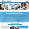 website design for IEEE PSES products safety engineering society