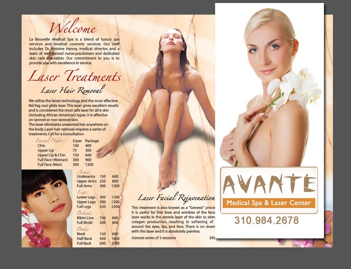 brochure medical spa