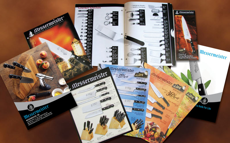 design of brochures and catalogs