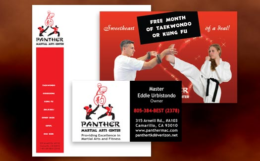 Logo, Business Card, Letterhead and Postcard Design by Creative 365 Camarillo