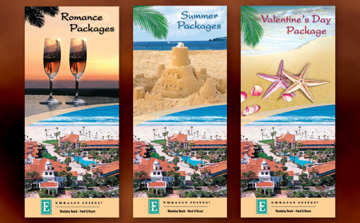 Creative365 Graphic Design - Rack Cards for Embassy Suites, Ventura
