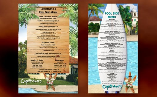 Restaurant Menu by Creative365 Graphic Design, Camarillo