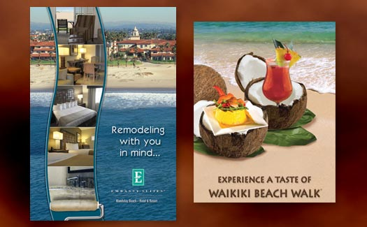 Poster and Invitation for a Resort by Creative365 Graphic Design