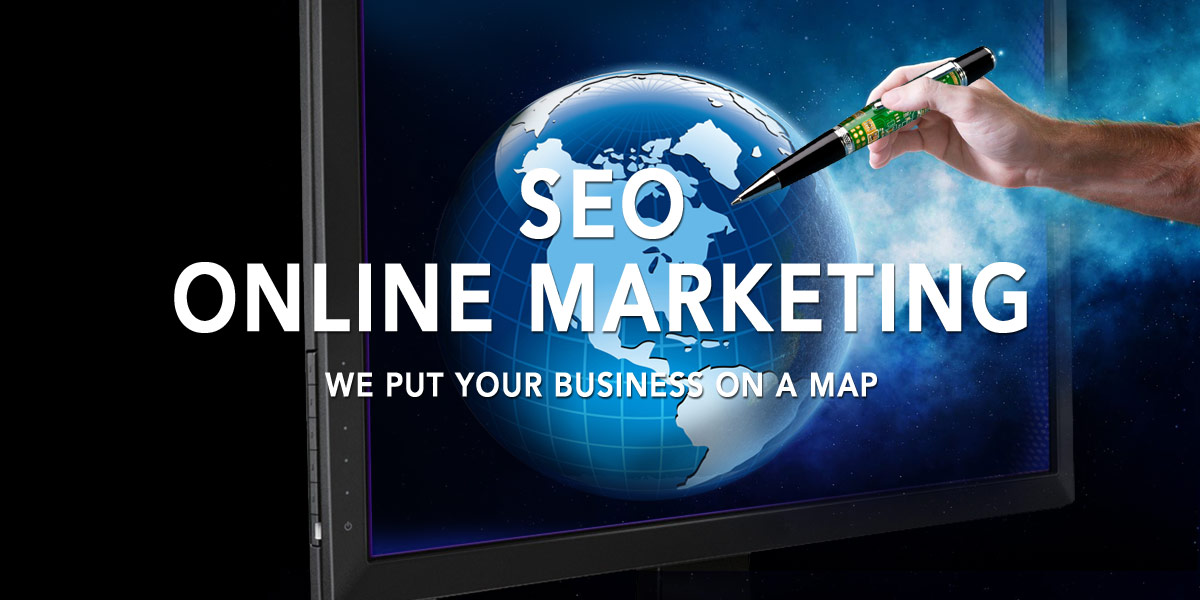 seo online marketing putting your business on a map