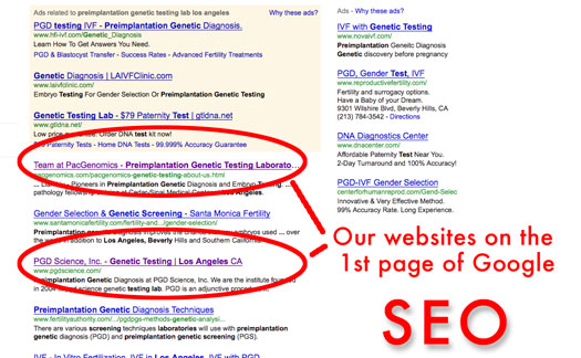 Creative365 Google search engine optimization pacgenomics