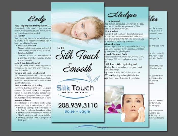 medical spa brochure
