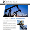 website design for White Ow, oilfiels precessing and disposal